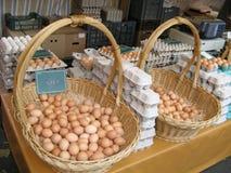 Pila de huevos Fotos de archivo libres de regalías