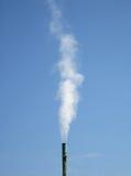 Pila de humo Foto de archivo