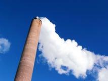 Pila de humo Imagen de archivo