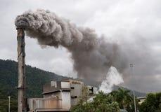 Pila de humo Billowing Imagen de archivo