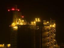 Pila de humo de la central eléctrica Fotografía de archivo libre de regalías