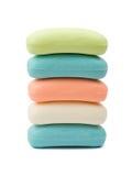 Pila de jabón Imagen de archivo libre de regalías