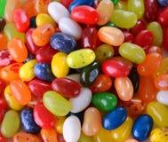 Pila de Jelly Beans (caramelo) Fotos de archivo libres de regalías