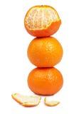Pila de la fruta cítrica Fotografía de archivo