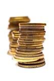 Pila de la moneda Fotografía de archivo
