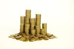 Pila de la moneda Imagen de archivo libre de regalías