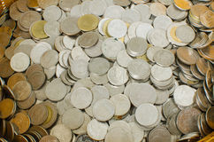 Pila de la moneda Fotos de archivo