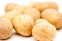 Pila de la patata Imágenes de archivo libres de regalías