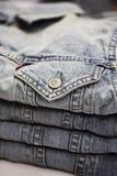 Pila de la ropa Foto de archivo libre de regalías