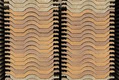 Pila de la teja de tejado imagen de archivo libre de regalías