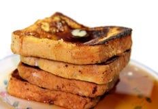 Pila de la tostada francesa Foto de archivo libre de regalías