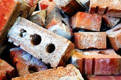 Pila de ladrillos Imagenes de archivo