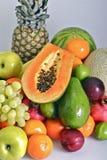 Pila de las frutas Fotografía de archivo
