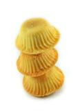 Pila de las galletas Foto de archivo