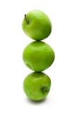 Pila de las manzanas Imágenes de archivo libres de regalías