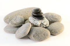 Pila de las piedras Fotografía de archivo