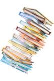 Pila de libro. Imagen de archivo libre de regalías
