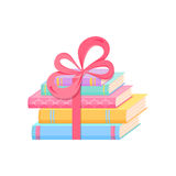Pila de libros coloridos Imagenes de archivo
