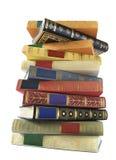 Pila de libros de la vendimia Foto de archivo libre de regalías