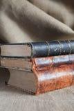 Pila de libros de StackOld de los libros viejos Fotografía de archivo libre de regalías