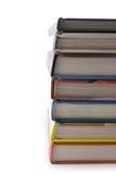 Pila de libros gruesos Fotografía de archivo