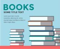 Pila de libros Vector aislado Objetos de la escuela, o Fotografía de archivo