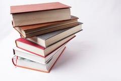 Pila de libros viejos Fotografía de archivo libre de regalías
