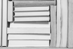 Pila de libros viejos usados Fotografía de archivo