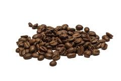 Pila de los granos de café Foto de archivo libre de regalías