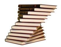 Pila de los libros fotos de archivo