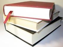 Pila de los libros imagen de archivo