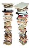 Pila de los libros Fotografía de archivo libre de regalías