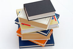 Pila de los libros no.7 Imágenes de archivo libres de regalías