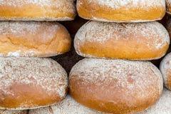 Pila de los panes Imagen de archivo