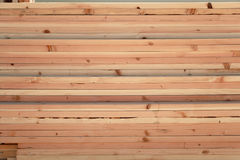 Pila de los tablones de madera Fotos de archivo libres de regalías