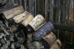 Pila de madera Imagenes de archivo
