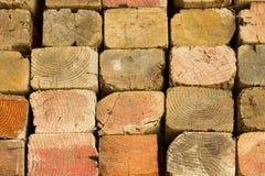 Pila de madera Fotografía de archivo