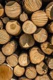 Pila de madera 2 Fotografía de archivo