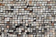 Pila de madera de construcción Imagen de archivo