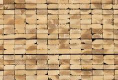 Pila de madera de construcción foto de archivo libre de regalías