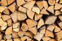 Pila de madera del fuego Foto de archivo