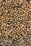 Pila de madera, leña, fondo Imagen de archivo
