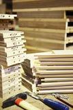 Pila de maderas Imagen de archivo