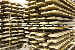Pila de maderas Imagen de archivo libre de regalías