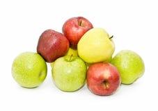 Pila de manzanas Imagen de archivo