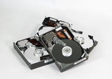 Pila de mecanismos impulsores Fotos de archivo