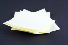 Pila de mensajes Imagen de archivo