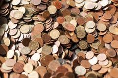 Pila de moneda tailandesa Imagen de archivo