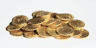 Pila de monedas - groschen de Praga