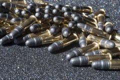 Pila de munición Fotografía de archivo libre de regalías